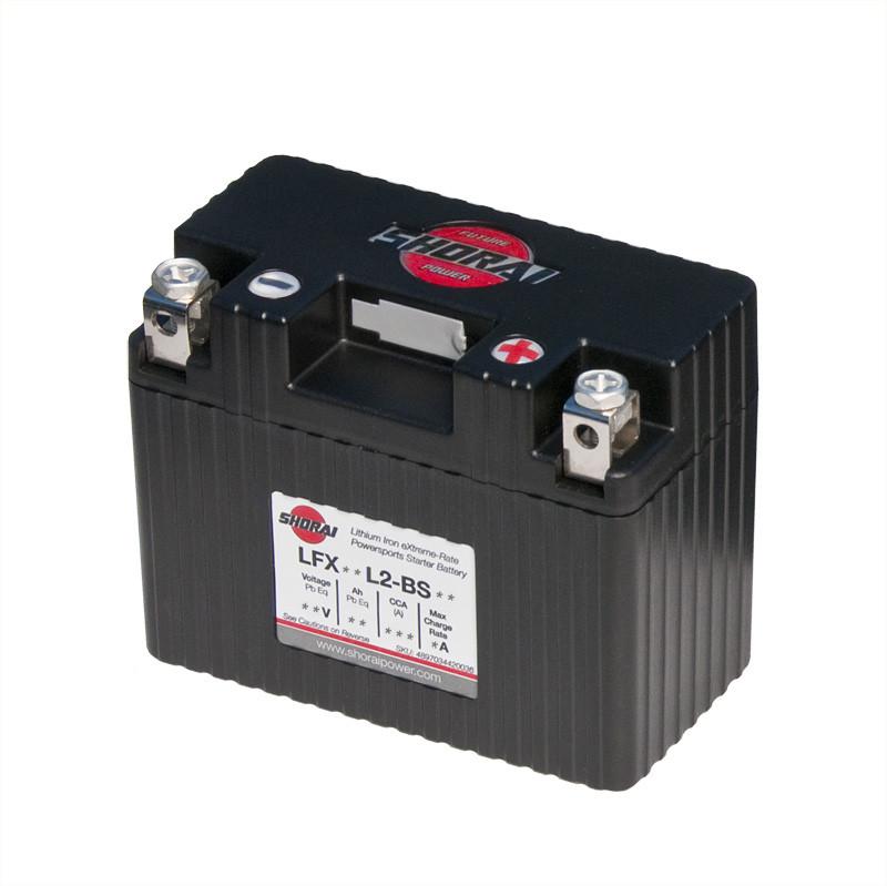 Shorai LFX07L2-BS12 Lithium Motorsports Battery For 06-10 ATV Arctic Cat