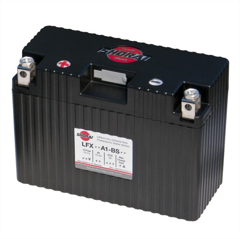 Shorai LFX14A1-BS12 Lithium-Iron Battery For 82-13 Motorcycle Hyosung/Kawasaki