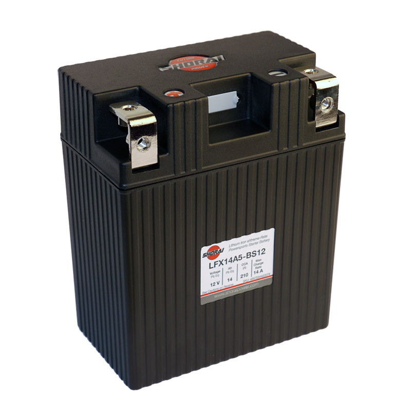 Shorai LFX14A5-BS12 Lithium Iron Extreme-Rate Battery For 69-97 Motorcycle