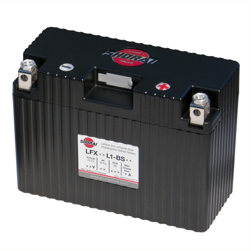 Shorai LFX18L1-BS12 Lithium Battery For 85-10 Motorcycle Yamaha/Ducati/Buell