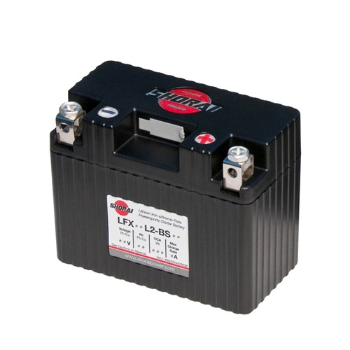 Shorai LFX18L2-BS12 Lithium Iron Extreme-Rate Battery For 67-82 Motorcycle